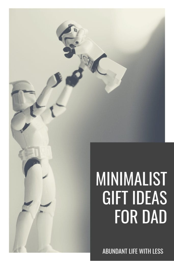 minimalist gift ideas for dad